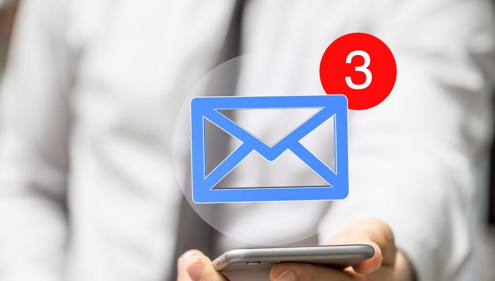 taxa de abertura de email